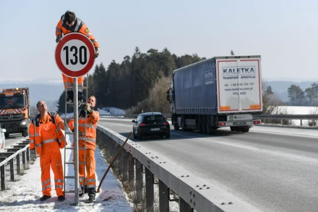 Germany considers Autobahn speed limit to fight climate change