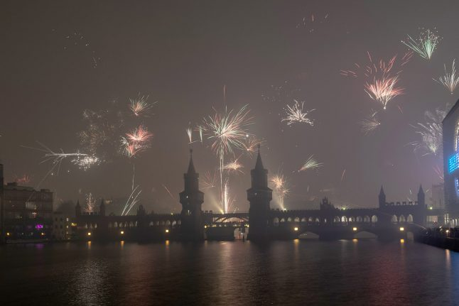 Berlin New Year's Eve air quality 'worst in Germany'