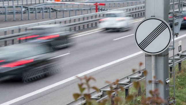 German government rejects speed limit on Autobahn