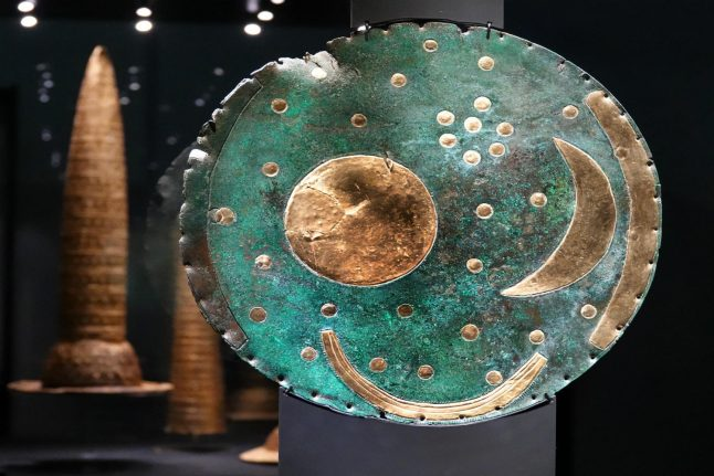 What the mysterious 'Nebra Sky Disk' tells us about ancient German history