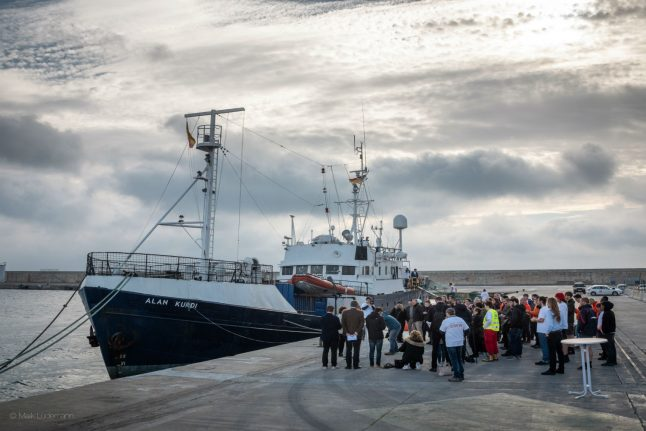 German migrant rescue ship named after toddler who died at sea
