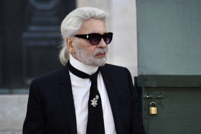 Karl Lagerfeld, fashion's quick-witted king, dies aged 85 in Paris
