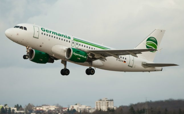 Flights cancelled as Germania airline files for bankruptcy