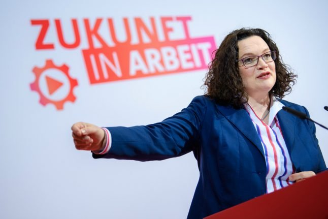 Germany's SPD shifts back to leftist roots, straining ties with Merkel