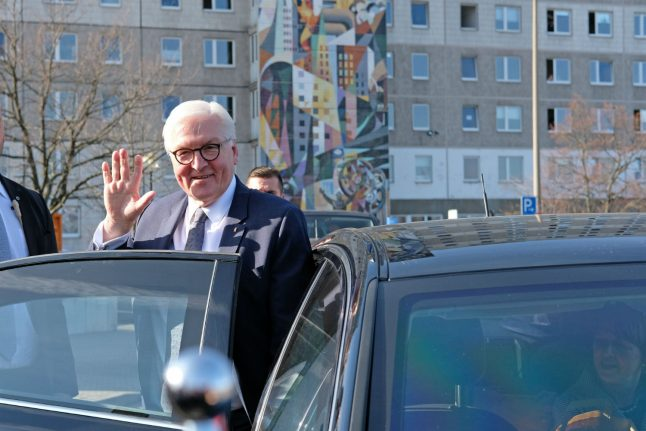 German president under fire for message to Iran