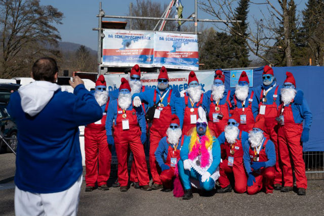 Germany seizes world Smurf record from Welsh students
