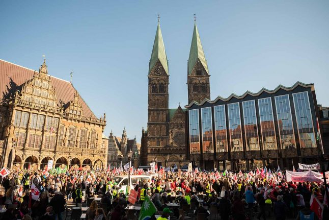 End to Germany-wide strikes in sight as negotiations begin