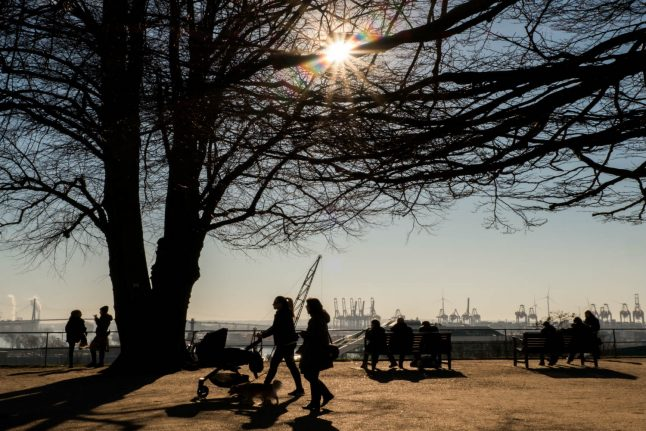 Temperatures up to 17C forecast in Germany this weekend