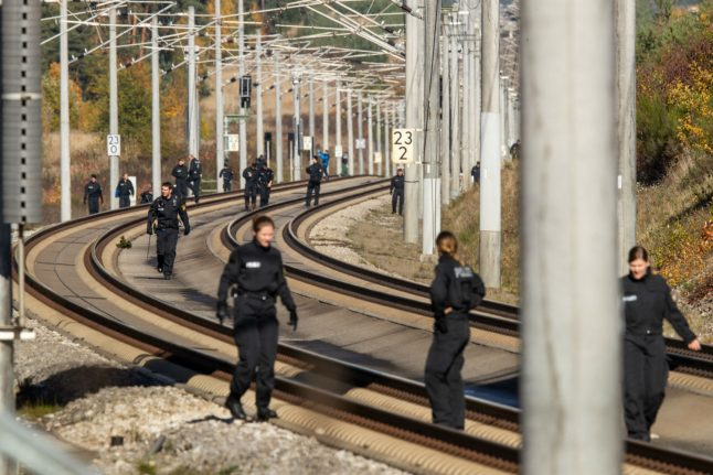 Two Germany rail sabotage suspects detained in Prague