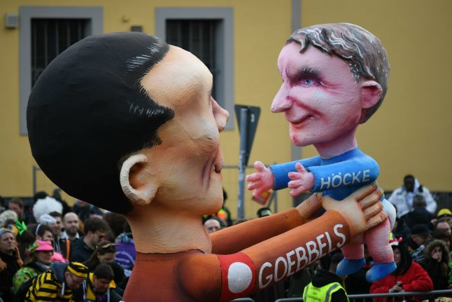 IN PICTURES: Rosenmontag Carnival celebrations go ahead despite storm