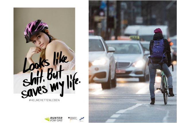 Cycling safety ad sparks sexism outcry in Germany