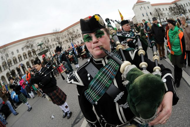 Where to celebrate St. Patrick's Day in Germany