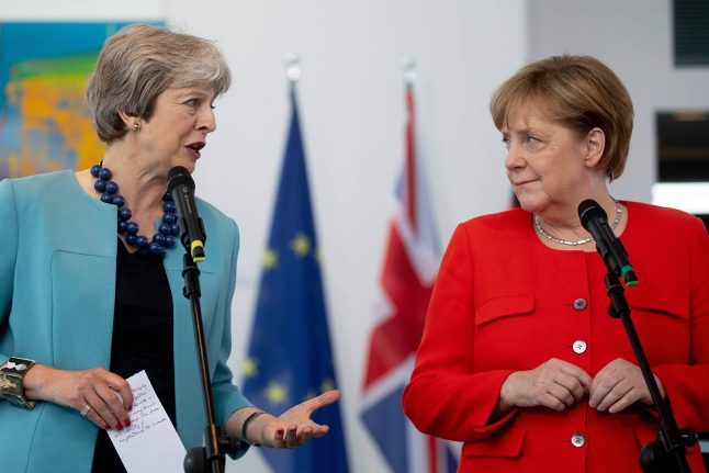 Merkel supportive of Britain's request for Brexit delay