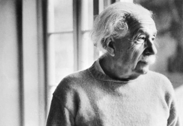Danish Astronomical Society discovers unique Einstein letters