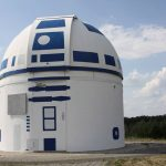 German observatory goes viral after Star Wars re-styling