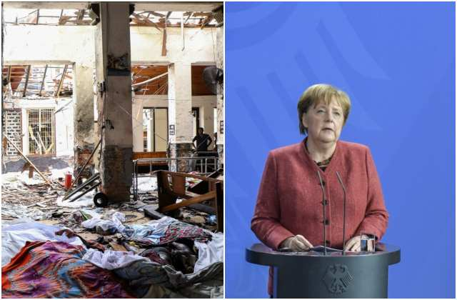 Germany's Merkel condemns 'religious hate and intolerance' after Sri Lanka  attacks