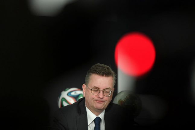 German football president to step down following scandals