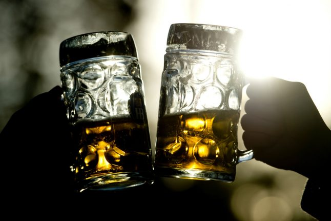 Prost! Why do Germans make eye contact when they clink glasses?