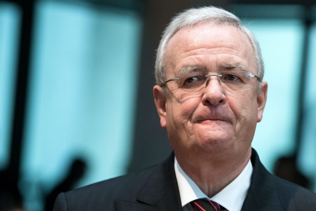 German prosecutors charge ex-VW chief with fraud