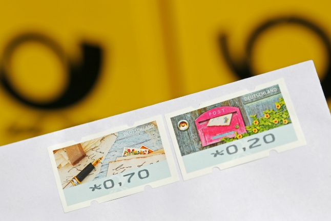 German postage costs may increase by 'up to 30 percent'