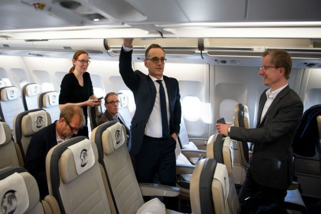 Foreign minister Maas latest German politician hit with plane problems