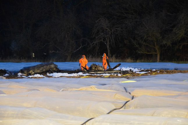 Double tragedy after deadly plane and car crash near Frankfurt