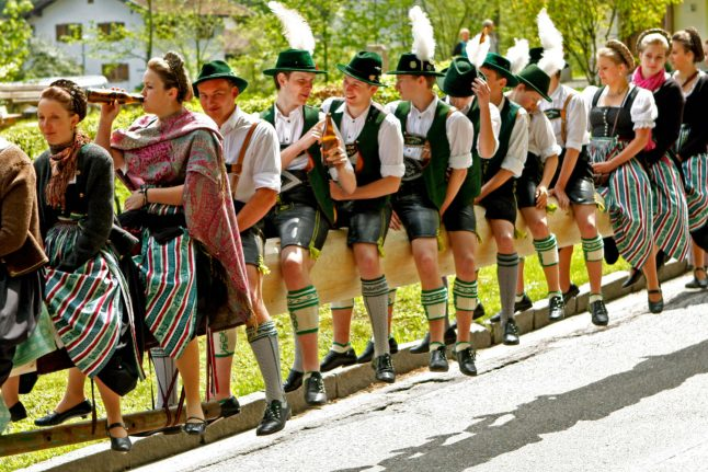 Germany's most bizarre May traditions