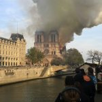 Sadness in Germany following huge fire in Notre-Dame, 'symbol of France'