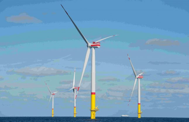 Germany opens Baltic Sea's largest wind park
