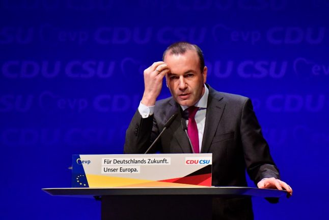 Germany's Weber, EU Commission frontrunner, urges Europe to embrace 'Christian influence'