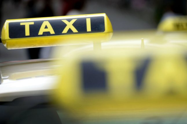 German taxi drivers stage nationwide protests against Uber