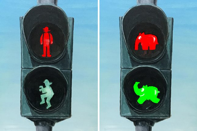 Why this town is battling German bureaucracy for elephant-themed traffic lights