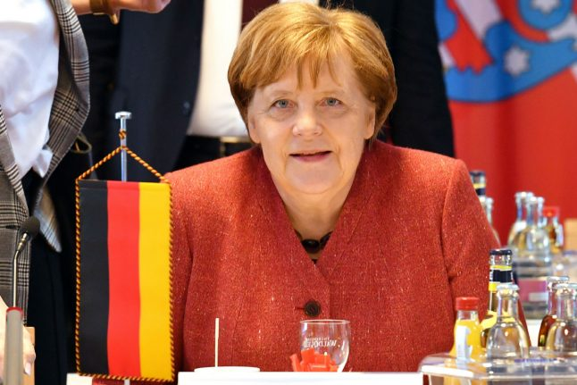 Brexit latest: Merkel hopes Theresa May 'will be successful'
