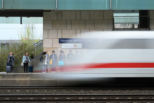 Why so many trains in Germany are late