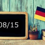 How to use the unusual German phrase '08/15'