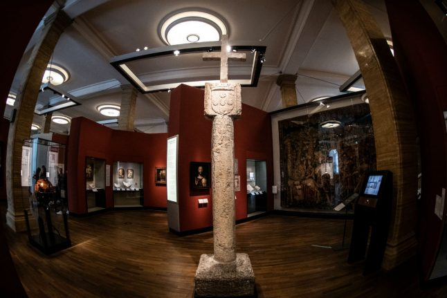 Germany confronts colonial past through return of ancient cross to Namibia