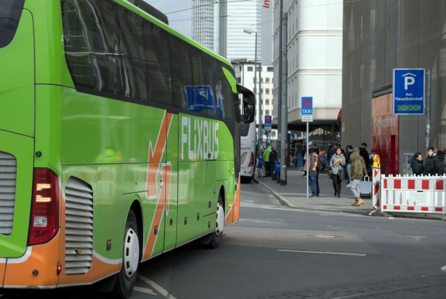 Flixbus and chill? Coach driver caught watching movie while driving