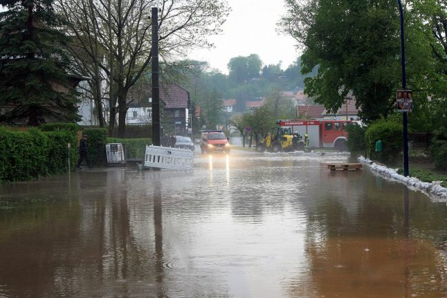IN PICTURES: Extreme weather brings flooding to Germany