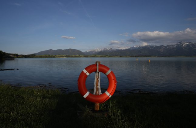 Four die in swimming accidents across Germany