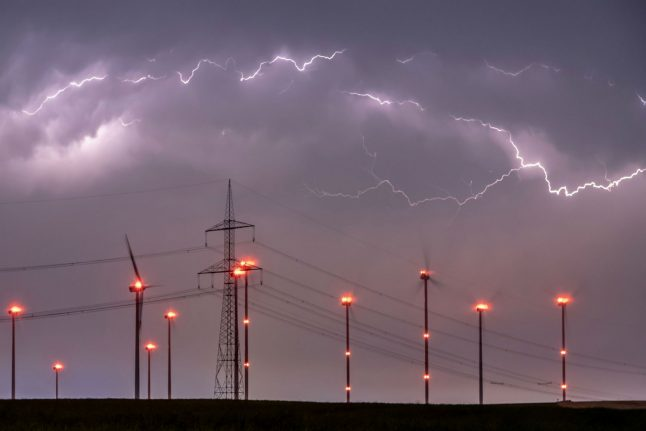 More stormy weather to strike eastern and southern Germany