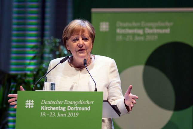 Germany faces 'major challenges' to stop far-right violence: Merkel