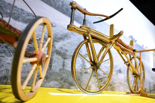 How a giant volcano led a German to create the world's first bike