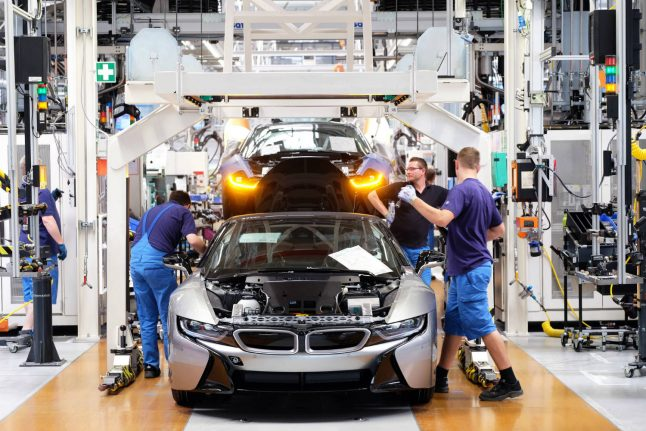 BMW vows to speed up electric car rollout