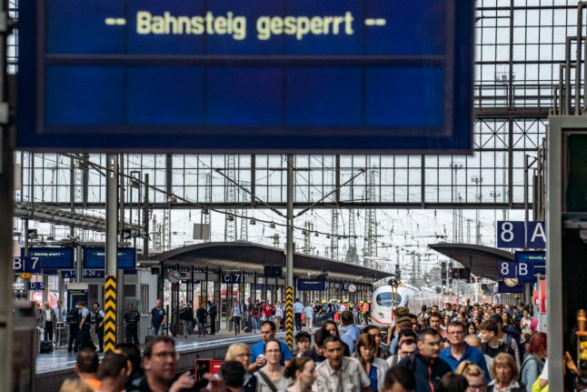 Boy, 8, dies after being pushed in front of train in Frankfurt