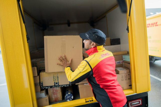 DHL to offer customers in Germany 'exact' package delivery times