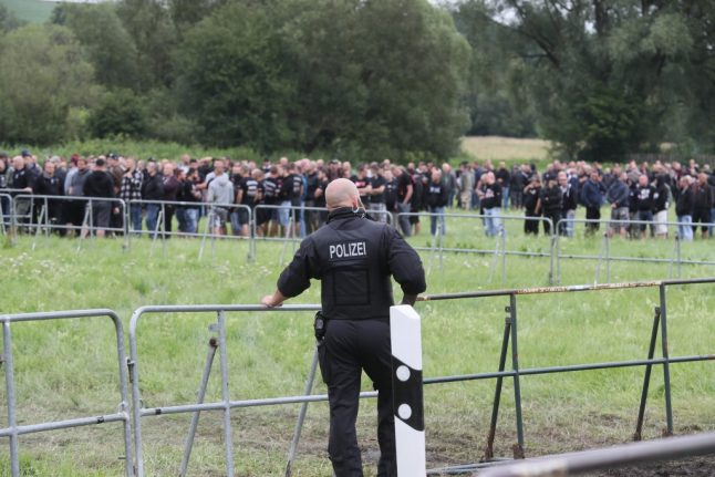 German police act to keep neo-Nazis away from beer supplies