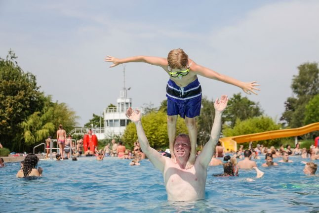 Germany records highest ever temperature as mercury hits 42.6C