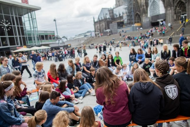 Fridays for Future: German climate protesters face fines for skipping school