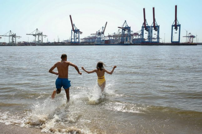 IN PICTURES: How Germany is dealing with 'hottest ever temperatures'