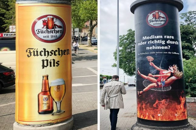 German brewery removes 'sexist' ad following nationwide complaint